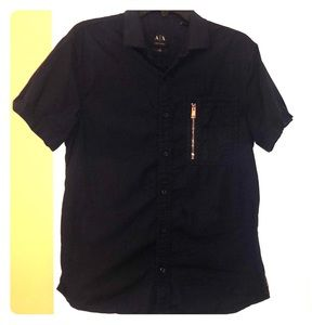 Armani Exchange men's shirt dark blue M